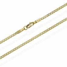 2 mm Goldkette Massiv Gold 585er Steg Panzerkette...