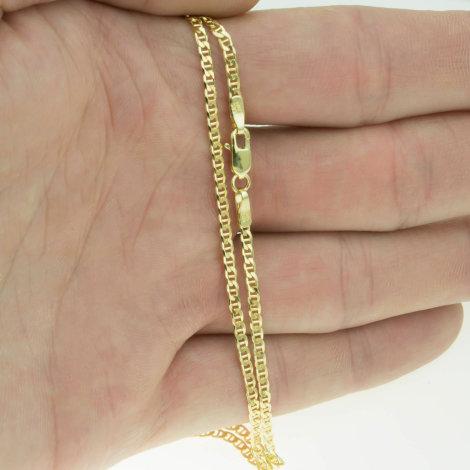 Männer 585 goldkette Massive Goldkette