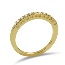 Aion Halbmemory Gold Ring 585 Verlobungsring Gelbgold 14K...